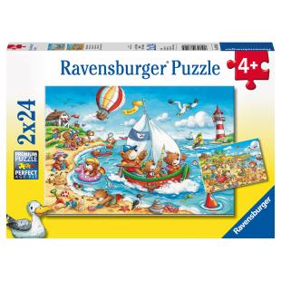 Puzzle Urlaub am Meer