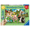 Puzzle Tierfreunde