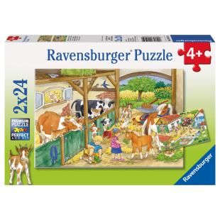 Puzzle Fröhliches Landleben