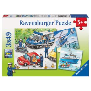 Puzzle Polizeieinsatz