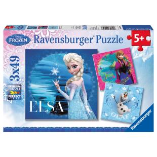 Puzzle Elsa, Anna & Olaf