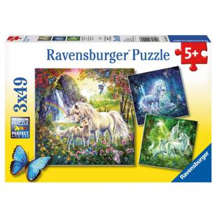 Puzzle Schöne Einhörner