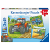 Puzzle Grosse Landmaschinen