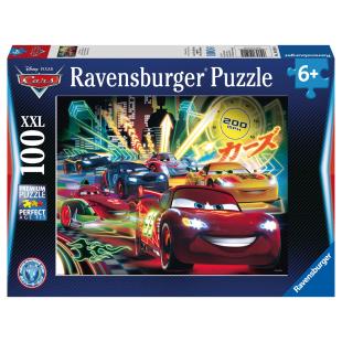 Puzzle Cars Neon