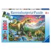 Puzzle Bei den Dinosaurier
