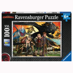 Puzzle Drachenfreunde