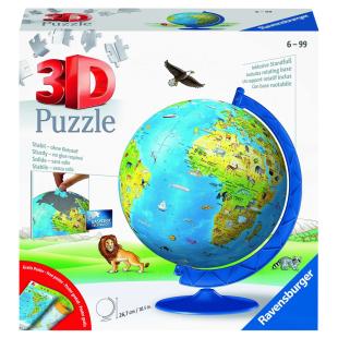 Puzzle 3D Kindererde deutsch