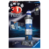 Puzzle 3D Leuchtturm b.Nacht