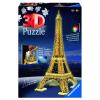 Puzzle 3D Eiffelturm Nacht