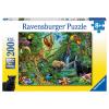 Puzzle Tiere im Dschungel