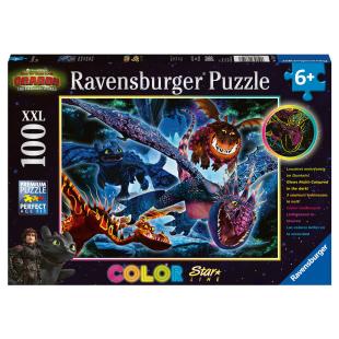 Puzzle Leuchtende Dragons