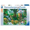 Puzzle Harmonie im Dschungel