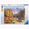 Puzzle Spaziergang Paris