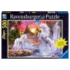 Puzzle Einhörner am Fluss