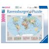 Puzzle Politische Weltkarte