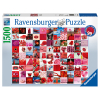 Puzzle 99 beautiful red
