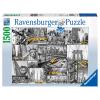 Puzzle Farbtupfer in N.York