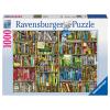 Puzzle Magisches Bücherregal