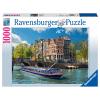 Puzzle Grachtenfahrt Amster-