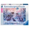 Puzzle Arktische Wölfe