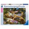 Puzzle Stolze Leopardin