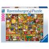 Puzzle Kurioses Küchenregal