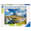 Puzzle Wasserfall Kirkjufell