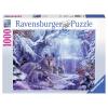 Puzzle Winterwölfe