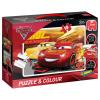 Puzzle & Colour Cars 3