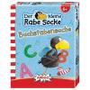 Buchstabensuche Rabe Socke