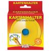 Kartenhalter gelb d/f/i