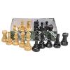 Schachfiguren Kunststoff