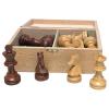 Schachfiguren Akazie