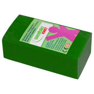 Blockknete 250 g, grün