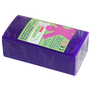 Blockknete 250 g, lila