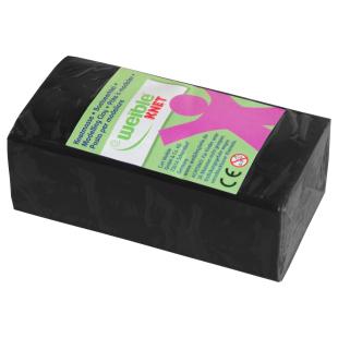 Blockknete 250 g, schwarz