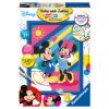 Malset Micky und Minnie