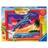 Malset Welt der Delfine