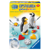 Gipsfiguren Pinguin