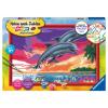 Malset Welt der Delfine, d
