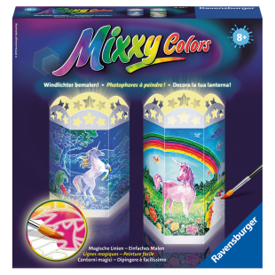 Mixxy Colors Einhörner Wind-
