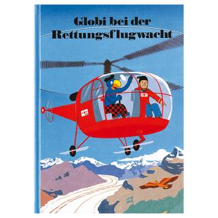 Globi bei der Rettungsflug-