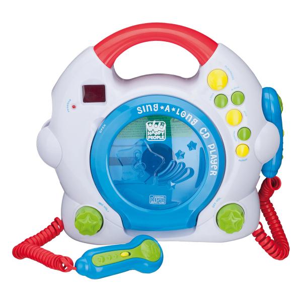 CD Player mit 2 Mikrofonen