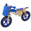 Laufrad Moto Bike blau