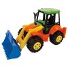 Traktor mit Baggerschaufel