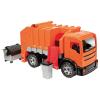 Müllwagen orange, 4 Räder