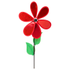 Windrad Ecoline Red Flower