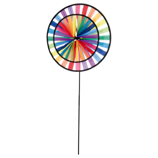Windrad Duett Rainbow