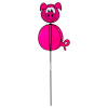 Windspiel Spinning Ball Pig