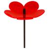 Flower 3D rot, 20 cm